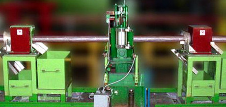 DZ-140 magnetic device for dross retention in production line of a Customer