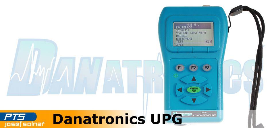 Precizní UT tloušťkoměry Danatronics UPG