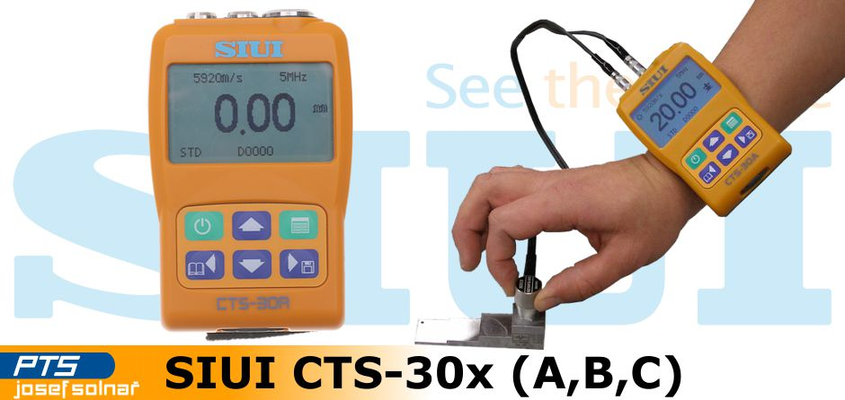 Ultrazvukové tloušťkoměry SIUI