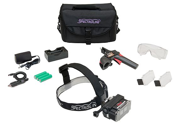 Spectroline EagleEye set UV LED