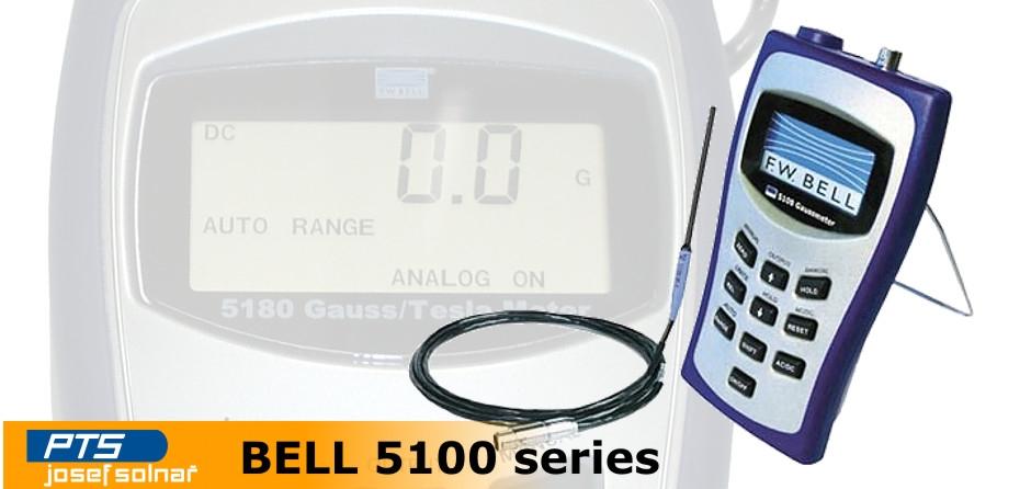 Měřiče magnetického pole Bell 5100 série