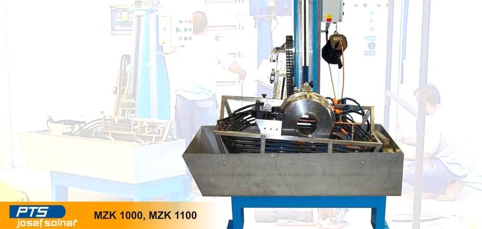 Дефектоскоп ж/д колес MZK 1000 / MZK 1100