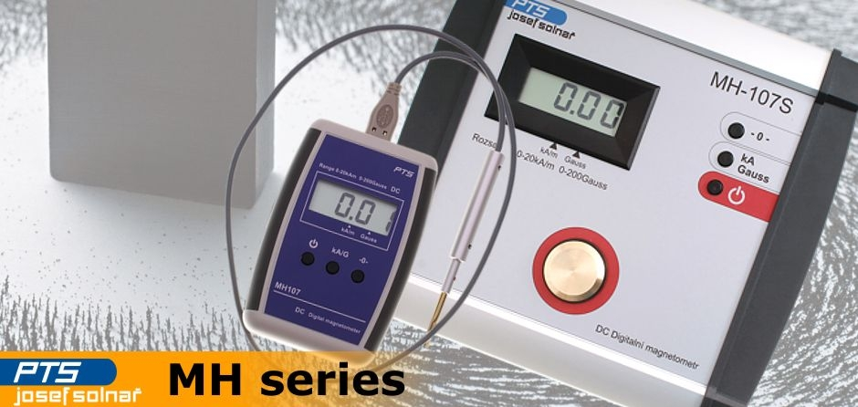 MH series magnetic field gaussmeters