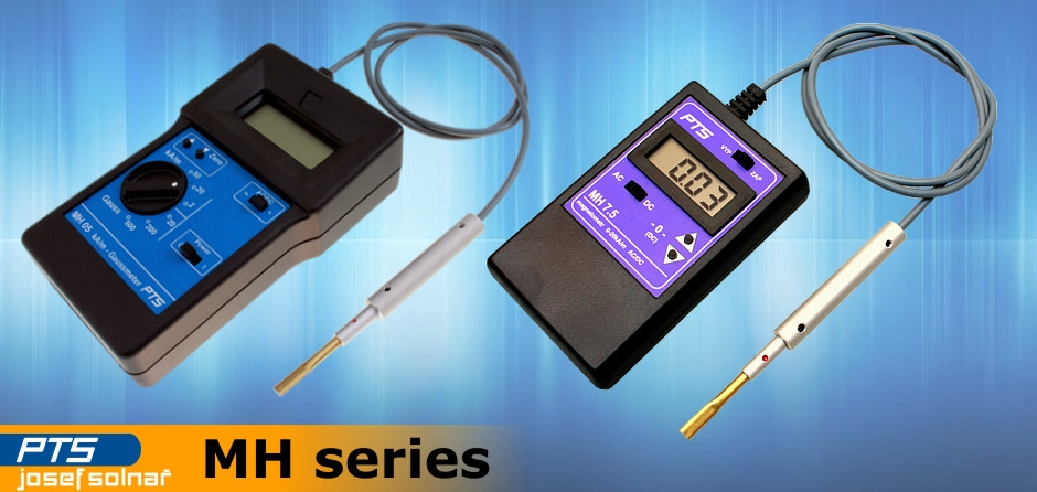 Magnetical field intensity gauges MH series